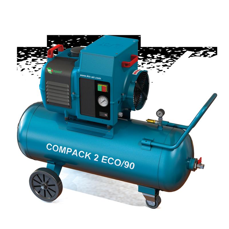 KTC Compack 2 special schroefcompressor mobiel pk