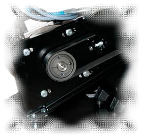 riem aangedreven v snaar compressor