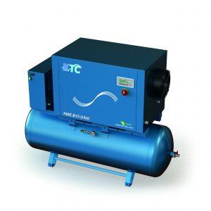 Schroefcompressoren standaard t/m 20 PK