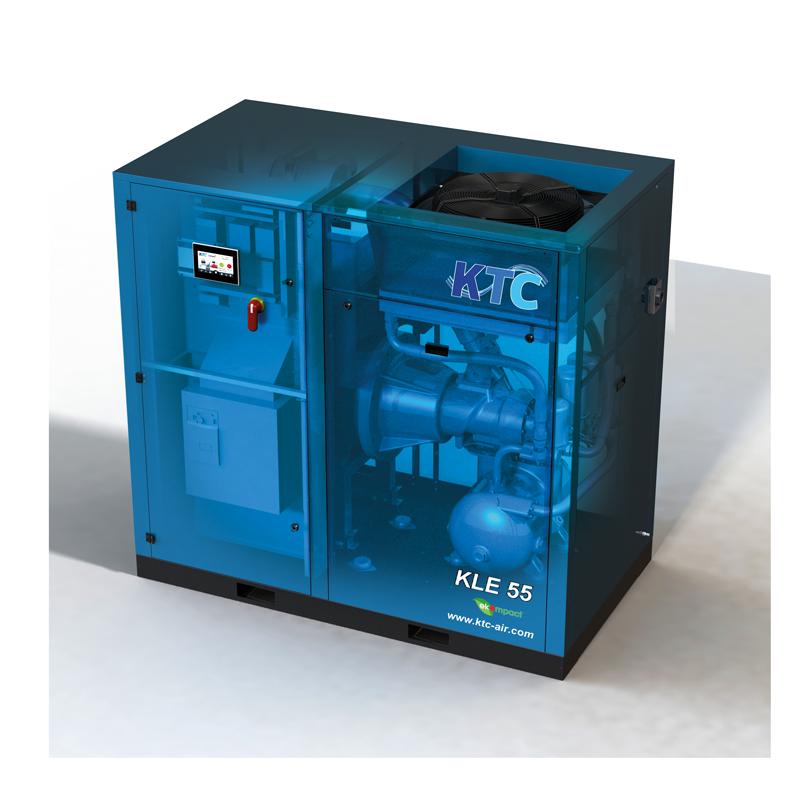 frequentie geregelde schroefcompressor VSD 55 kw